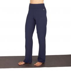 Yamadhi Yoga Jazzpants, Bio-Baumwolle, Dunkelblau (Black Iris)