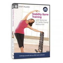 STOTT PILATES DVD - Stability Barre Training with Reformer & Cardio-Tramp