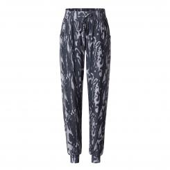 Curare Yogahose Pants Relaxed, marbled-print