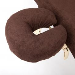 wuwei Facerest Cover, terry chocolate