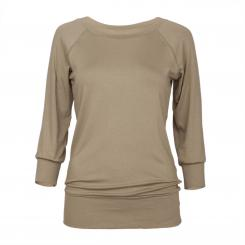Yamadhi Casual 3/4 Long sleeve, viscose, burnt olive