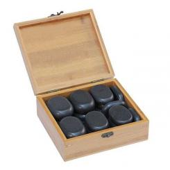 Hot stone set, 18 pieces