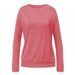 CURARE t-shirt à longues manches Turtleneck, corail