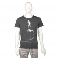 T-shirt homme BODHI - Bouddha, anthracite