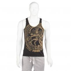 Bodhi Mens T-Shirt - NATARAJ, anthracite