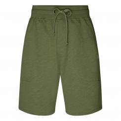 Yoga Sweat Shorts Herren, olivgrün