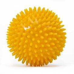 Balles de massage à picots 10 cm - safran (à l'unité)