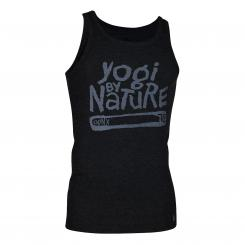 OGNX Mens Tank Top, Yogi by Nature black L
