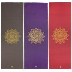 Yoga mat RISHIKESH Premium 60 with golden mandala