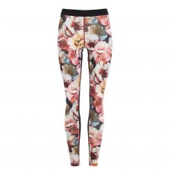 Mandala Fashion Fancy Leggings, rose print L