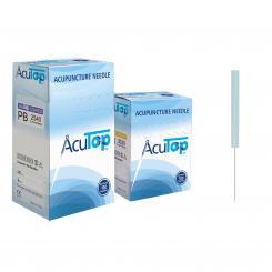 AcuTop aiguilles d'acupuncture PB, 100 pièces
