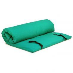 Shiatsumatte mit abnehmbarem Bezug 140x200 cm | grün | 4 lagig