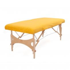 Terry Fitted Sheet for Massage Tables L yellow gold