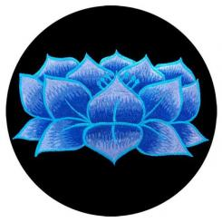 Meditation cushion RONDO with Lotus