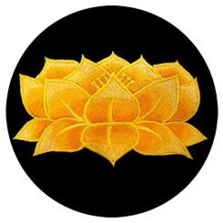 Meditation cushion ZAFU with Lotus