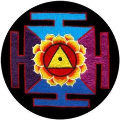 Meditationskissen RONDO mit Mandala