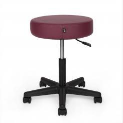 Adjustable Swivel Stool TAOline burgundy