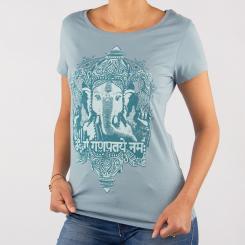 Bodhi Womens Tank Top - GANESHA, blue XS