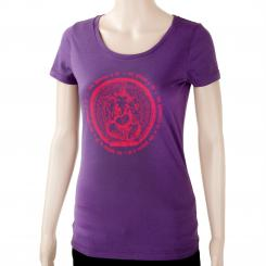 Bodhi Womens T-Shirt - GANESHA, purple