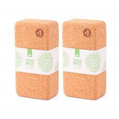 Yoga CORK BRICK,  standard set (2 pieces)