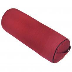 Bolster de yoga CLASSIC bordeaux | épeautre