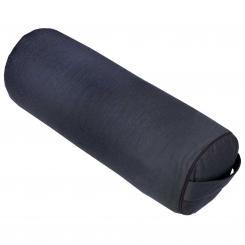 Yoga BOLSTER CLASSIC schwarz | Dinkelhülsen