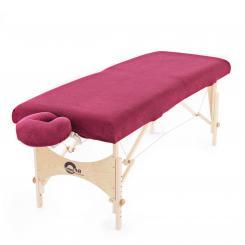 wuwei Terry Sheet Set burgundy | S/M