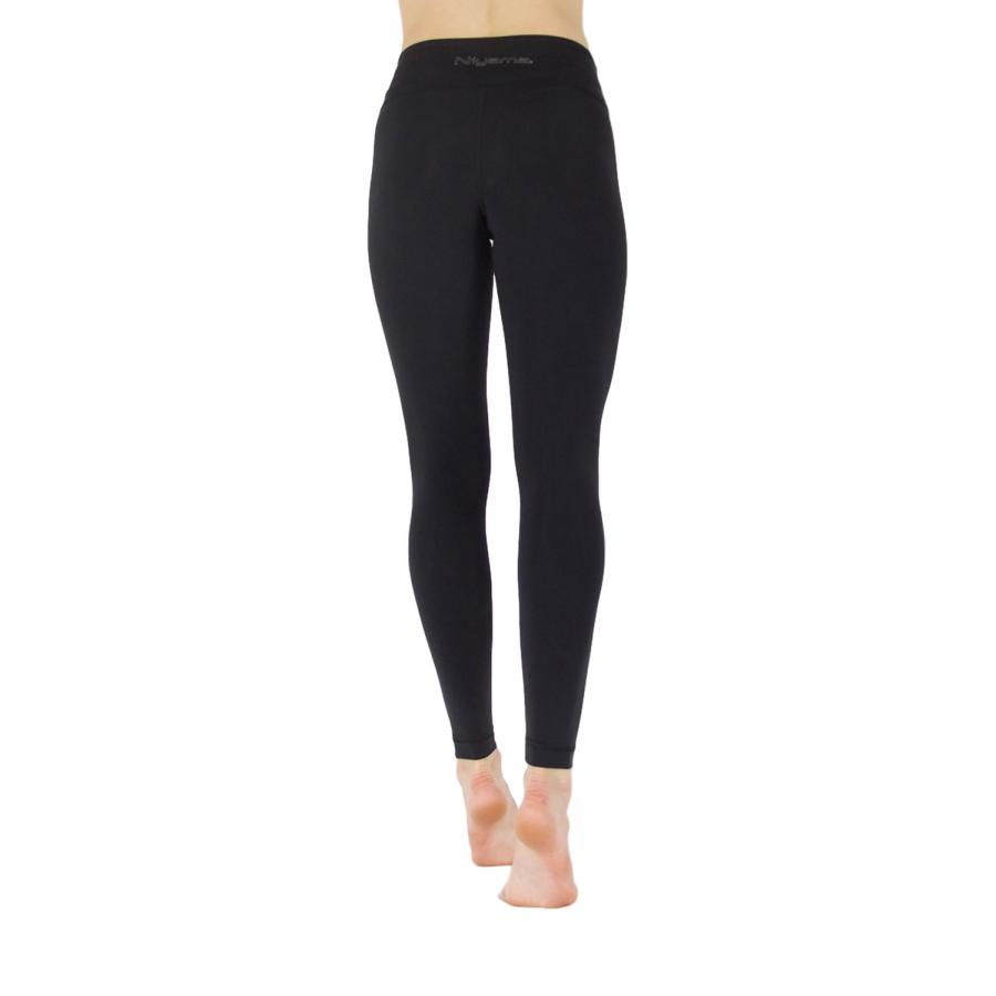 Niyama Leggings Eco Black High Waist, 100 % recycled