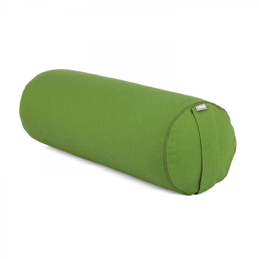 Bolster de yoga BASIC vert olive | cosses d'épeautre