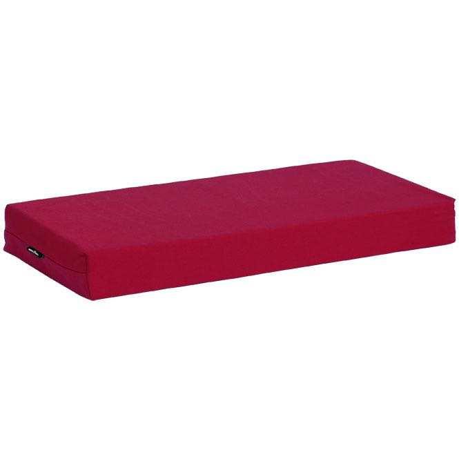 SEMINARHAUS cushion, rectangular burgundy