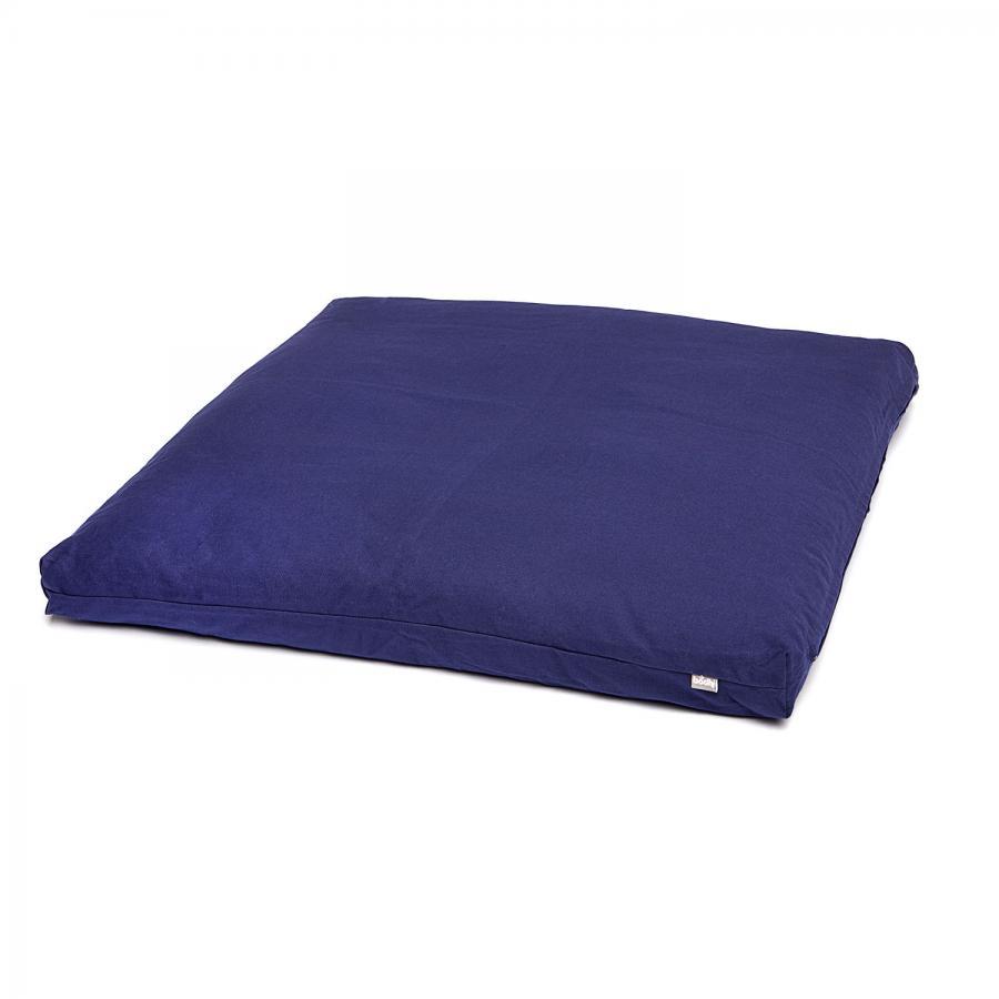 Meditationsmatte Zabuton BASIC 80 x 80 cm dunkelblau