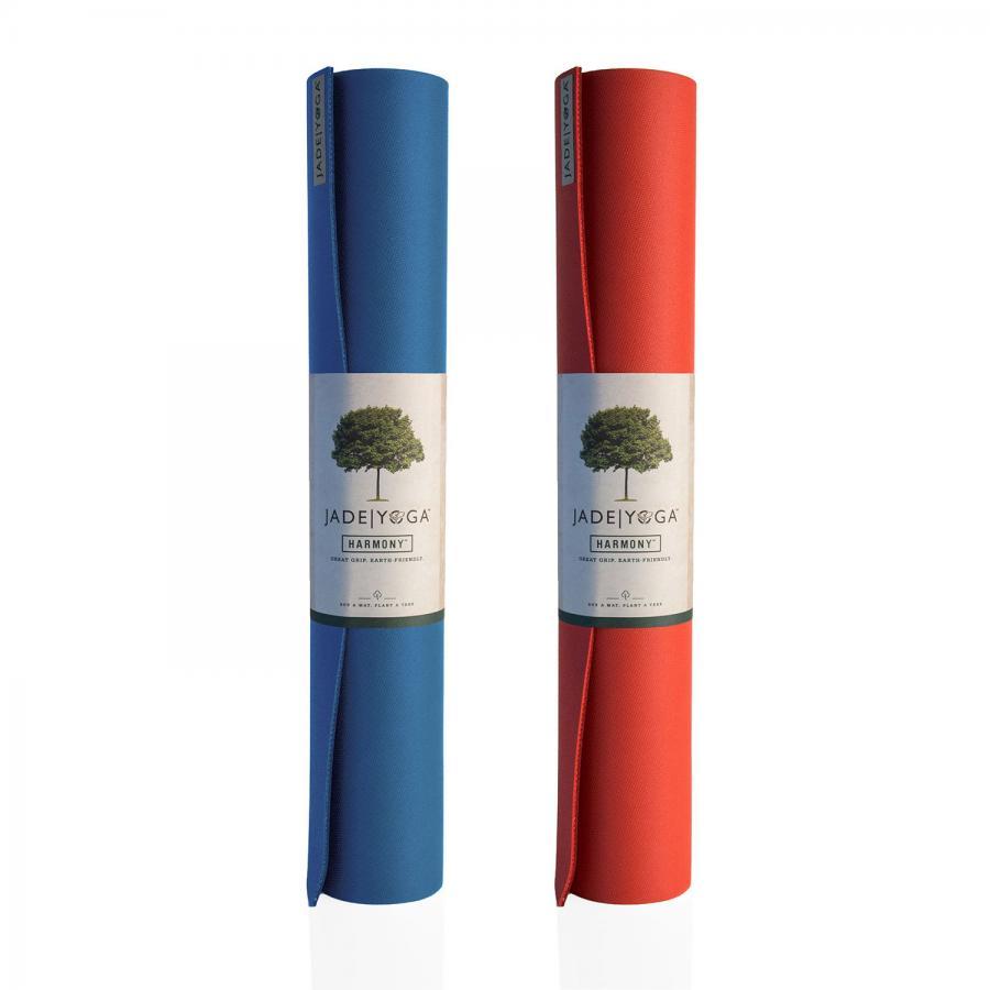 Yoga mat Jade Two Tone  | natural rubber