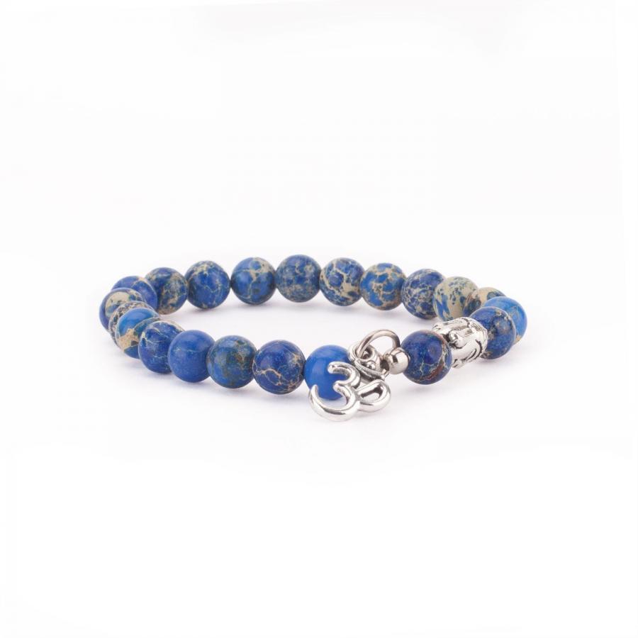 Mala Armband mit blauem Jaspis, Modeschmuck