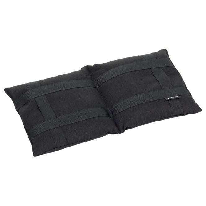 Yoga Sandsack mit 2 Kammern schwarz