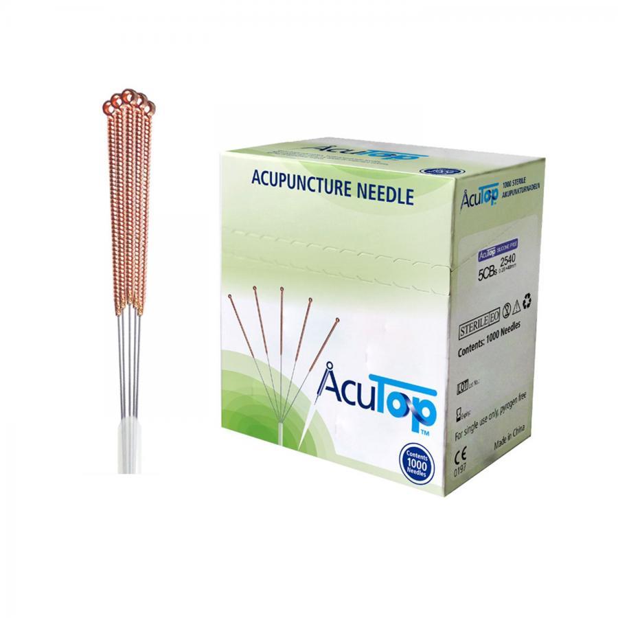 AcuTop aiguilles d'acupuncture 5CBs, 1000 pièces