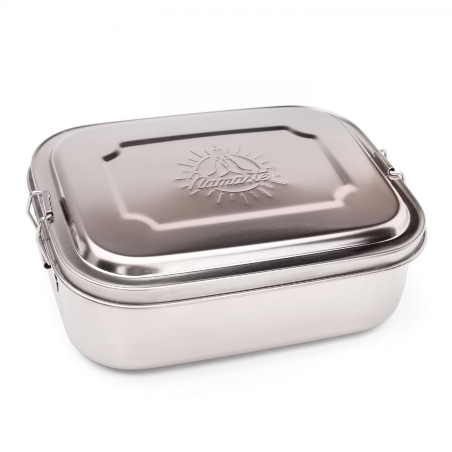 bodhi Stainless Steel Lunchbox with Namaste engraving, in 2 Größen