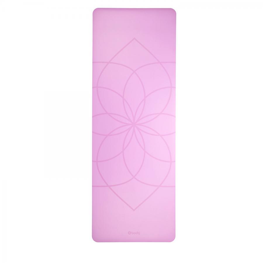 Design Yogamatte PHOENIX Mat, lila mit Living Flower