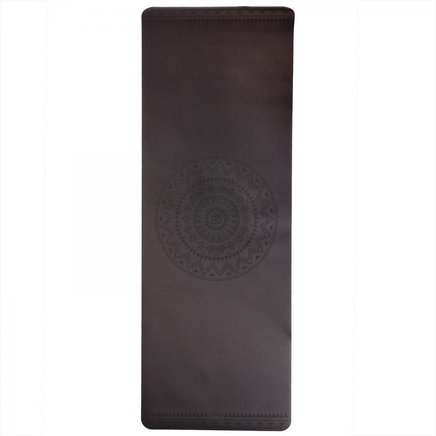 Design Yogamatte PHOENIX Mat, schwarz mit Ethno Mandala