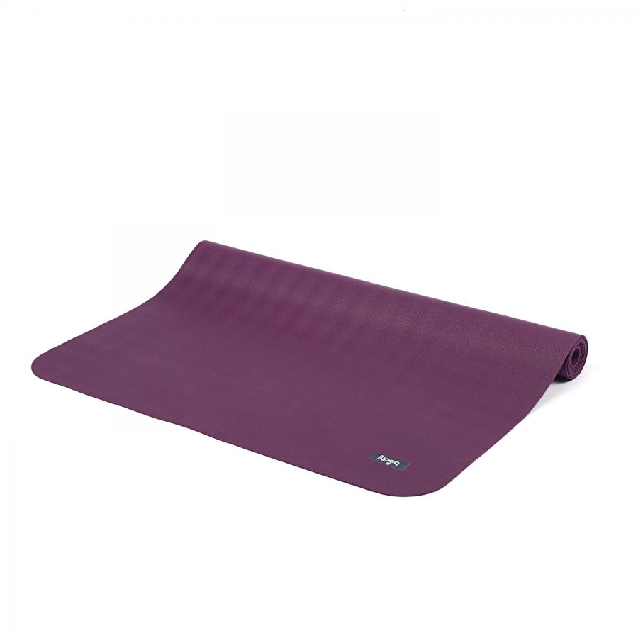Natural rubber yoga mat ECOPRO TRAVEL violet