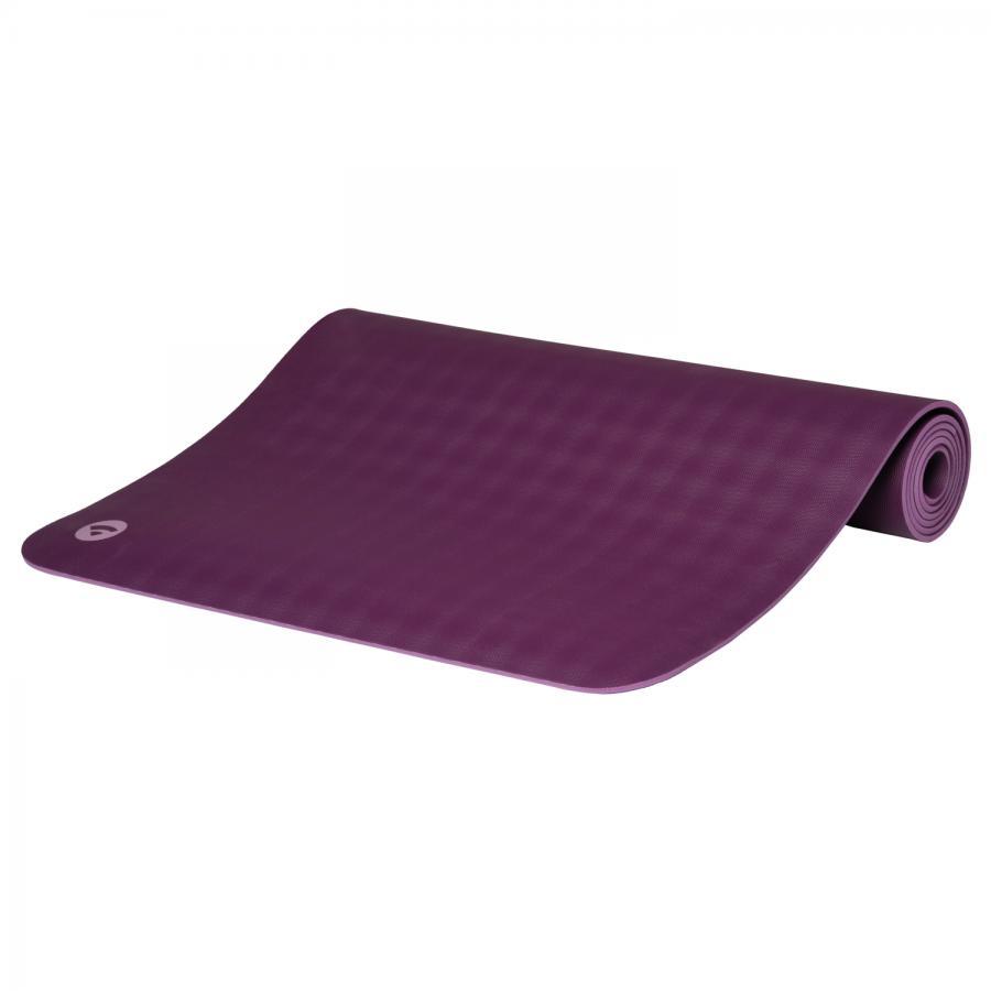 Tapis de yoga ECOPRO DIAMOND en caoutchouc naturel violet