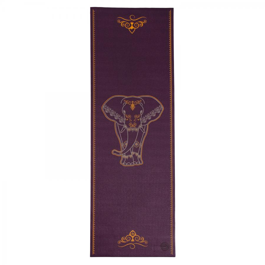 Design Yogamatte BIG ELEPHANT, zweifarbig, The Leela Collection