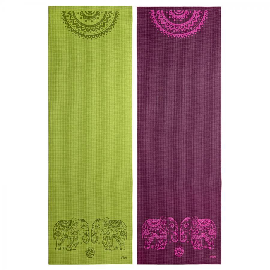 Design Yogamatte ELEFANT/MANDALA, The Leela Collection