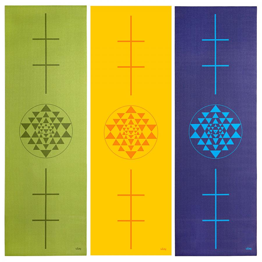 Design Yogamatte YANTRA/ALIGNMENT, The Leela Collection