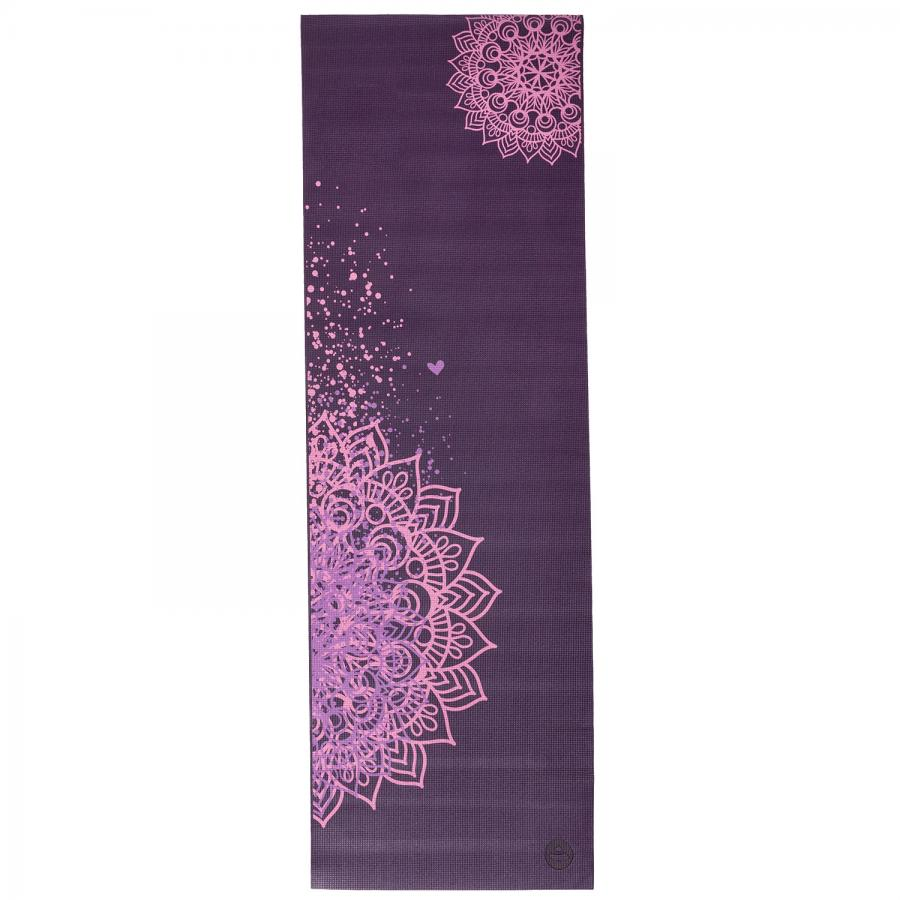 Design Yogamatte MANDALA ZWEIFARBIG, The Leela Collection Plum