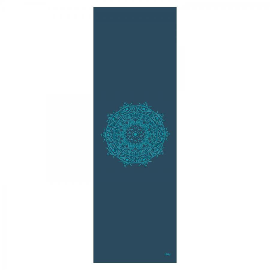 Design Yogamatte MANDALA, The Leela Collection petrol, Mandala: türkis