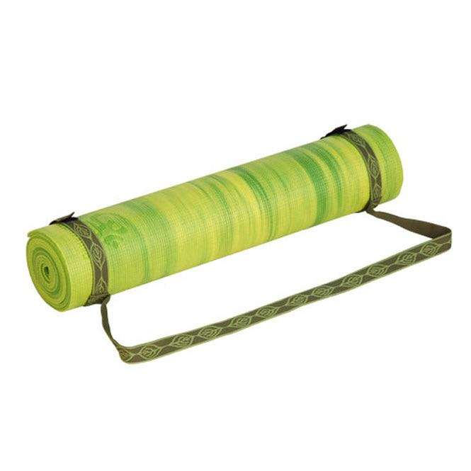 Yogamatten-Tragegurt olive grün