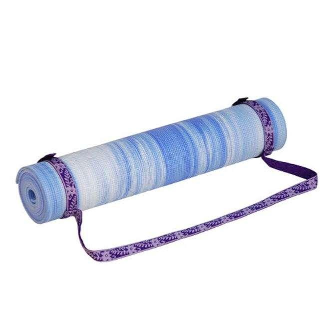 Sangle de transport universelle pour tapis de yoga violet