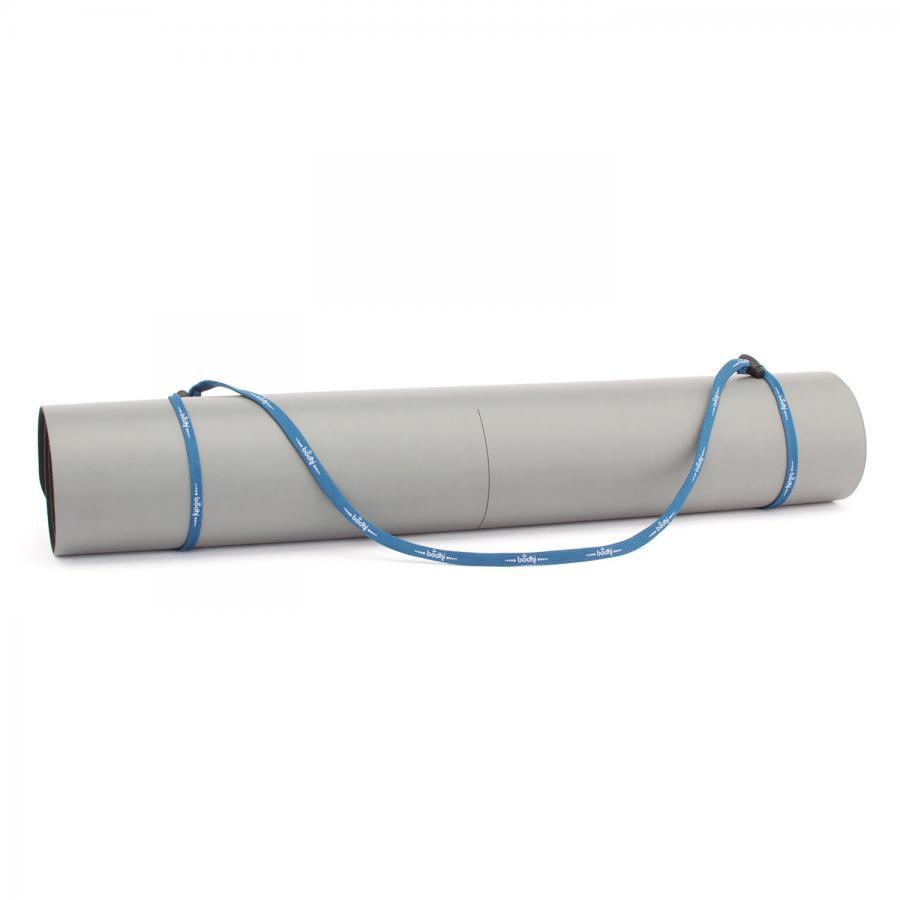 bodhi sangle pour tapis de yoga bleu