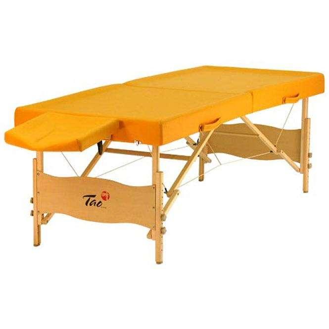 Table de massage TAOline AYURVEDA jaune