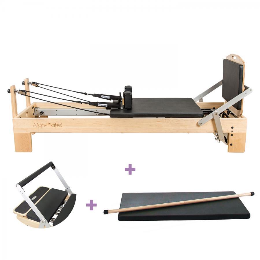 Align Pilates M2 Pro Reformer, Bundle
